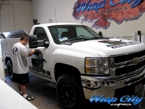 Chevy Utility Truck Wrap Wrap City Sad Diego Vehicle Wraps