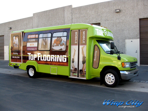 Shuttle Bus Wrap Wrap City San Diego Vehicle Wraps