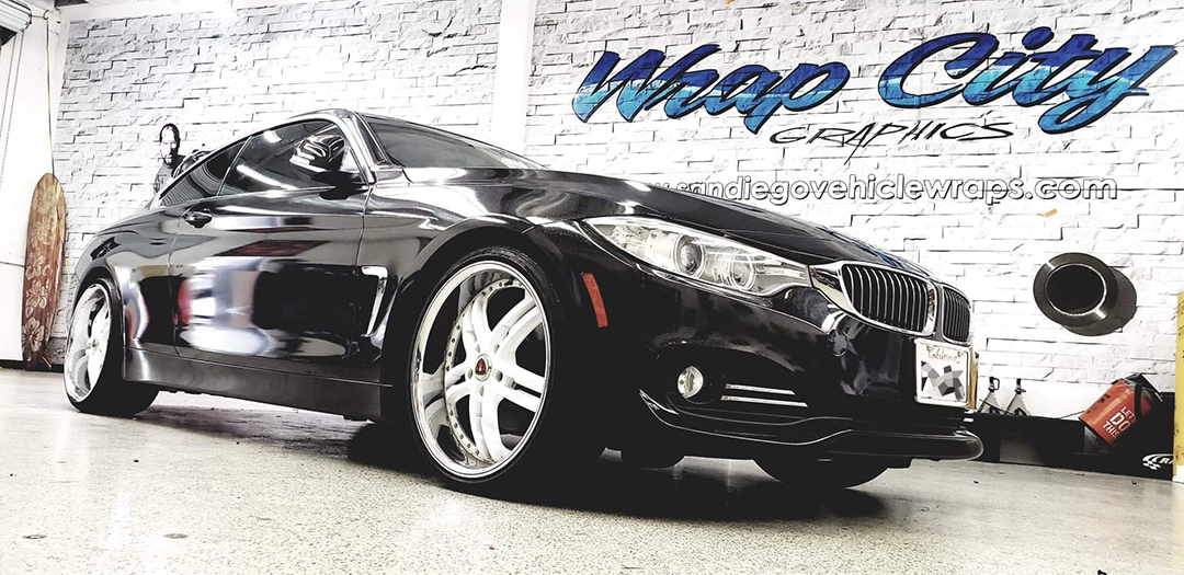 Complete Car Wrap 3M Metallic Black