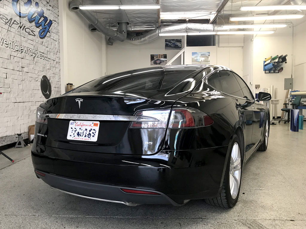 Tesla Model S Full Body 3M wrap